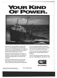Maritime Reporter Magazine, page 13,  Jun 1994 Cummins Engine Company Inc.
