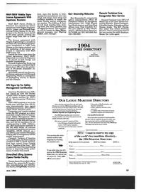 Maritime Reporter Magazine, page 51,  Jun 1994 Texas