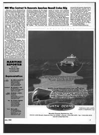 Maritime Reporter Magazine, page 5,  Jun 1994 California