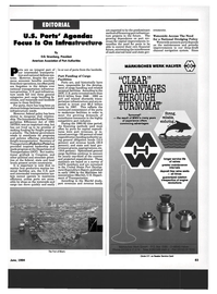 Maritime Reporter Magazine, page 73,  Jun 1994 American Association of Port Authorities Ports
