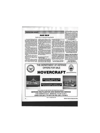 Maritime Reporter Magazine, page 92,  Aug 1994 DEPARTMENT OF DEFENSE OFFERS FOR SALE HOVERCRAFT y-jWwu