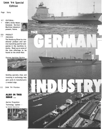 Maritime Reporter Magazine, page 23,  Sep 1994 technology help give yards