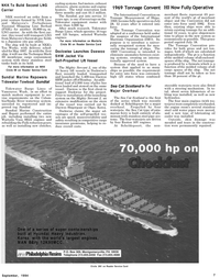 Maritime Reporter Magazine, page 5,  Sep 1994 Technigaz Mark III membrane cargo containment system