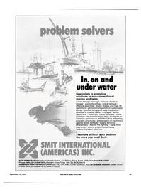 Maritime Reporter Magazine, page 17,  Sep 15, 1994 pontoon transportation