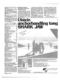 Maritime Reporter Magazine, page 23,  Sep 15, 1994 Connecticut