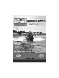 Maritime Reporter Magazine Cover Oct 1994 -