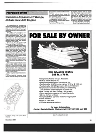 Maritime Reporter Magazine, page 9,  Dec 1994 Bow Thruster