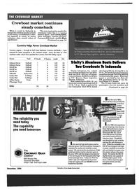 Maritime Reporter Magazine, page 11,  Dec 1994 Crewboat