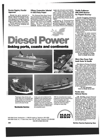 Maritime Reporter Magazine, page 26,  Dec 1994 Washington