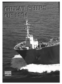 Maritime Reporter Magazine, page 27,  Dec 1994