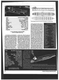 Maritime Reporter Magazine, page 34,  Dec 1994 thick mild steel