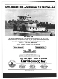 Maritime Reporter Magazine, page 4th Cover,  Dec 1994 Louisiana