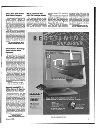 Maritime Reporter Magazine, page 3rd Cover,  Jan 6, 1995