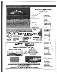 Maritime Reporter Magazine, page 98,  Feb 1997