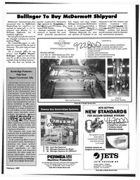 Maritime Reporter Magazine, page 107,  Feb 1997