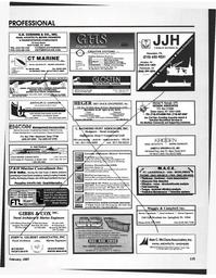 Maritime Reporter Magazine, page 115,  Feb 1997