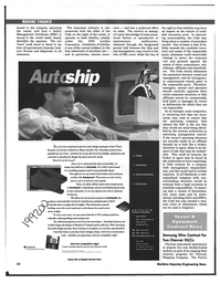 Maritime Reporter Magazine, page 10,  Feb 1997