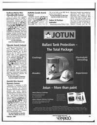 Maritime Reporter Magazine, page 15,  Feb 1997