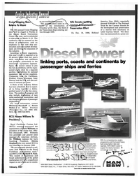 Maritime Reporter Magazine, page 39,  Feb 1997