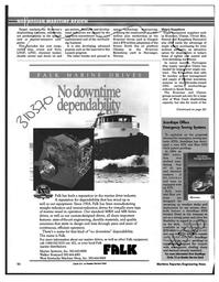 Maritime Reporter Magazine, page 50,  Feb 1997