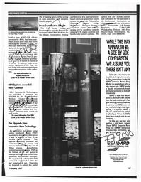 Maritime Reporter Magazine, page 67,  Feb 1997