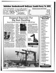 Maritime Reporter Magazine, page 71,  Feb 1997