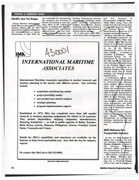 Maritime Reporter Magazine, page 78,  Feb 1997