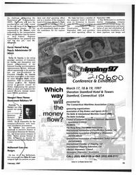 Maritime Reporter Magazine, page 79,  Feb 1997