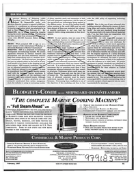 Maritime Reporter Magazine, page 81,  Feb 1997