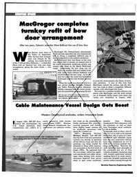 Maritime Reporter Magazine, page 90,  Feb 1997
