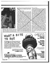 Maritime Reporter Magazine, page 91,  Feb 1997
