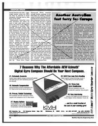 Maritime Reporter Magazine, page 92,  Feb 1997