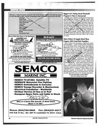 Maritime Reporter Magazine, page 94,  Feb 1997