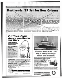 Maritime Reporter Magazine, page 96,  Feb 1997