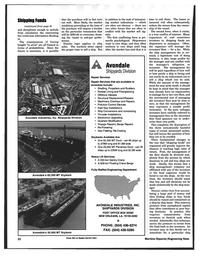 Maritime Reporter Magazine, page 22,  Mar 1997