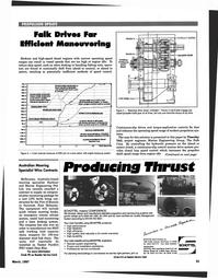 Maritime Reporter Magazine, page 43,  Mar 1997