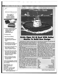 Maritime Reporter Magazine, page 48,  Mar 1997