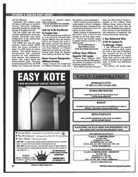 Maritime Reporter Magazine, page 50,  Mar 1997