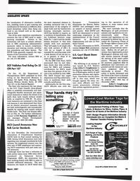 Maritime Reporter Magazine, page 77,  Mar 1997