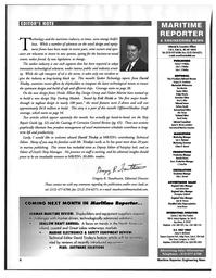 Maritime Reporter Magazine, page 6,  Mar 1997