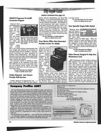 Maritime Reporter Magazine, page 86,  Mar 1997