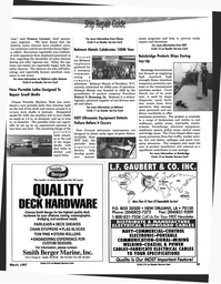 Maritime Reporter Magazine, page 87,  Mar 1997