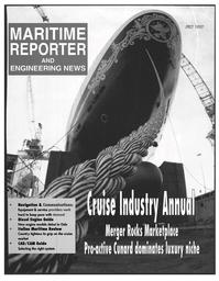 Maritime Reporter Magazine Cover Jul 1997 -