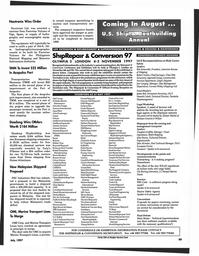 Maritime Reporter Magazine, page 99,  Jul 1997