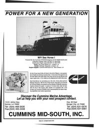 Maritime Reporter Magazine, page 3rd Cover,  Jul 1997