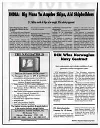 Maritime Reporter Magazine, page 28,  Jul 1997