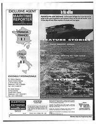 Maritime Reporter Magazine, page 2,  Jul 1997