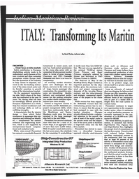 Maritime Reporter Magazine, page 48,  Jul 1997
