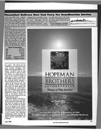 Maritime Reporter Magazine, page 53,  Jul 1997