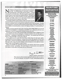 Maritime Reporter Magazine, page 6,  Jul 1997